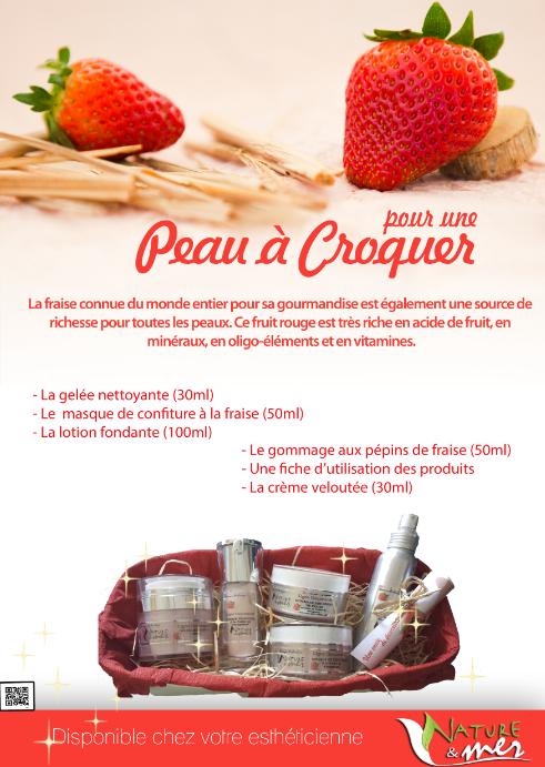 Affiche fraise
